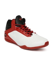 Boltio Men White Basketball Shoes