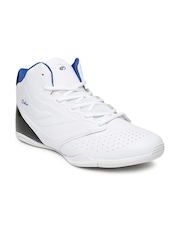 Boltio Men White Colourblocked Basketball Shoes