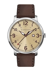 GIORDANO Men Beige Analouge Watch FA1048-02