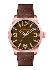 GIORDANO Men Brown Analouge Watch FA1049-05