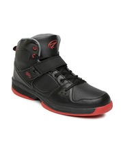 Boltio Men Black Basketball Shoes