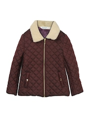 Beebay Boys Coffee Brown Quilted Jacket