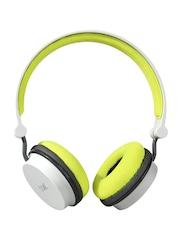 boAt Unisex Grey & Green Rocker 400 Wireless Headphones with Mic