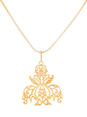 ahilya Gold-Plated Sterling Silver Pendant