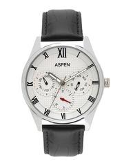 ASPEN Men White Dial Analogue Watch AM0096