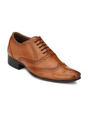 Mactree Men Tan Brown Formal Shoes