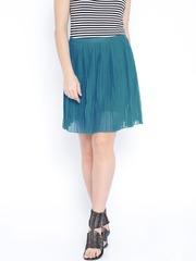 U.S. Polo Assn. Women Blue Flared Skirt
