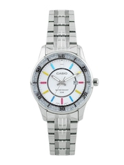 CASIO Women White Dial Watch A806