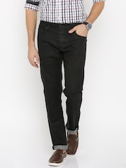 Jack & Jones Black Washed Slim Fit Jeans