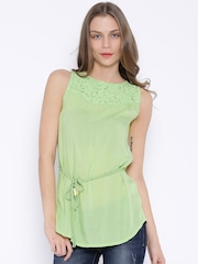 U.S. Polo Assn. Women Green Top