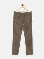 U.S. Polo Assn. Kids Boys Brown Corduroy Trousers