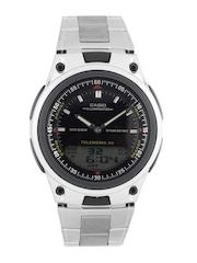 Casio Men Black Dial Dual Time Watch AD60