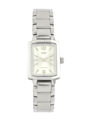 CASIO Women Silver-Toned Dial Watch SH49