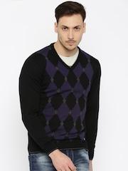 Arrow New York Black Sweater