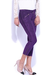 D Muse Purple Corduroy Trousers