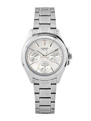 Casio Enticer Women Steel-Toned Dial Watch A934