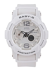 Casio Baby-G Women White Analogue & Digital Watch BX026