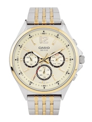 Casio Enticer Men Gold-Toned Dial Watch A960