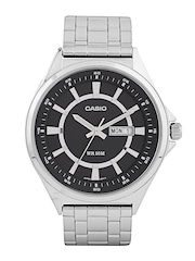 CASIO Enticer Men Charcoal Grey Dial Analogue Watch A965