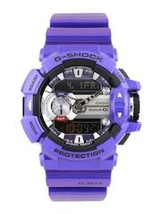 CASIO G-Shock Men Steel-Toned & Black Smart Watch G558