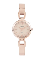 Casio Enticer Women Cream-Coloured Dial Watch A981