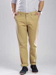 GANT Khaki Soho Fit Chino Trousers