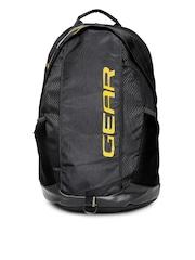 Gear Unisex Black Outlander 8 Printed Backpack