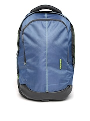 Gear Unisex Blue & Black Outlander Waterproof Backpack