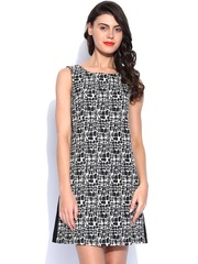 Vero Moda Black & White Shift Dress