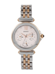 SEIKO Women Off-White Dial Watch SKY700P1