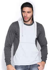 Roadster Grey Hooded Sweatshirt