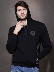 Roadster Black Hooded Sweatshirt