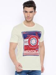 Arrow Sport Off-White Printed T-shirt