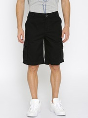 PUMA Black Cargo Shorts