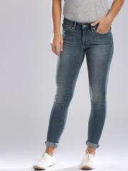 Levis Blue 711 Skinny Jeans