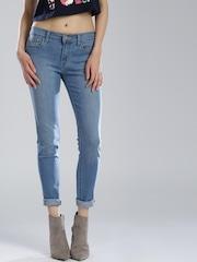Levis Blue Super Skinny Jeans 710