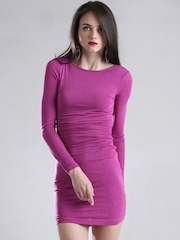 GUESS Magenta Sheath Dress