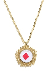 Anouk Gold-Toned House of Cards Necklace