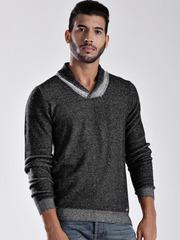 GAS Grey Slim Reversible Sweatshirt