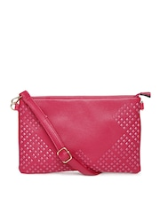 Dressberry Pink Oversized Clutch