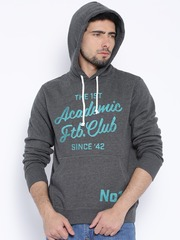 Fox Grey Hooded Sweatshirt