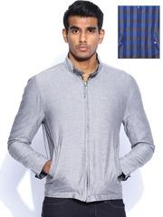 Lee Grey Oxford Reversible Jacket