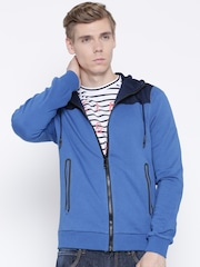 Adidas NEO Blue Hooded Sweatshirt
