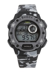 Timex Expedition Men Grey Camouflage Printed Digital Watch TW4B006006S