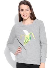 Vero Moda Grey Melange Sweatshirt