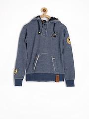 Jn Joy Boys Blue Hooded Sweatshirt