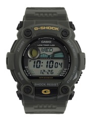 Casio G-Shock Men Green Digital Watch G262