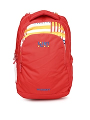 Wiki by Wildcraft Unisex Red Printed Twist 2 Backpack