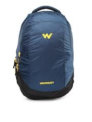 Wildcraft Unisex Blue & Black Peza Backpack
