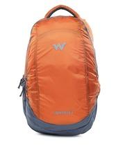 Wildcraft Unisex Orange & Grey Peza Backpack